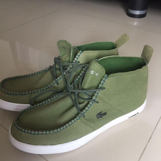 Sepatu LACOSTE High Sneackers