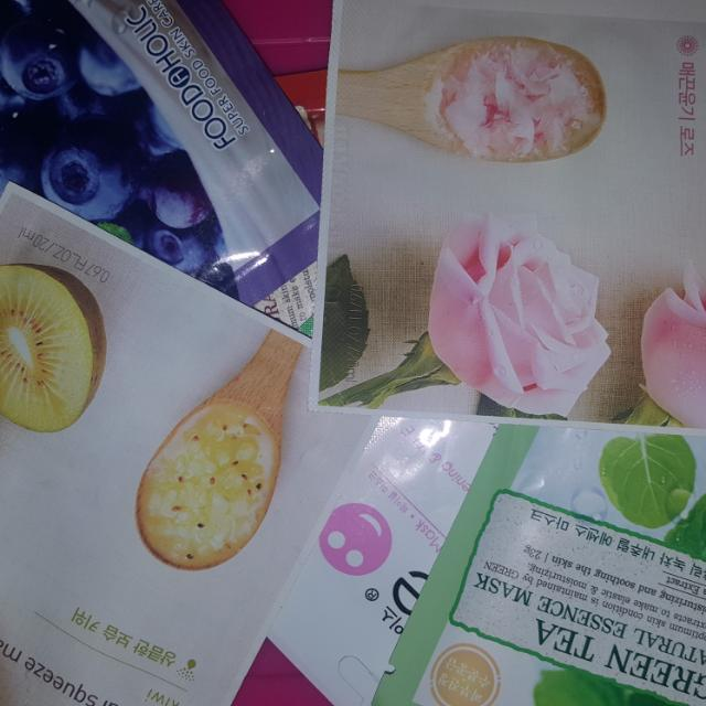 SHEET MASK INNISFREE-NUFACE-FOOD A HOLIC