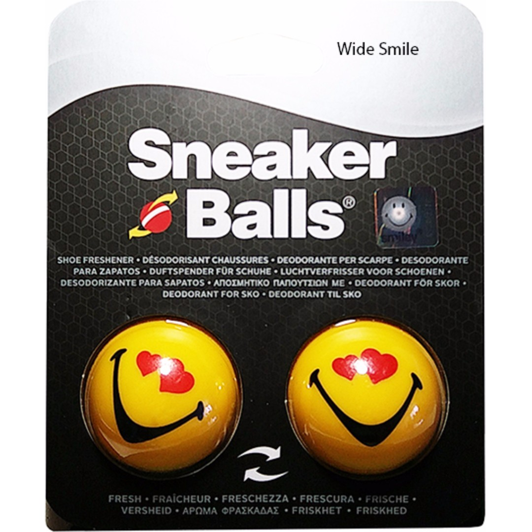 8c867aaa0d4b Sneaker Balls - Smiling Face - Wide Smile (Including Delivery ...