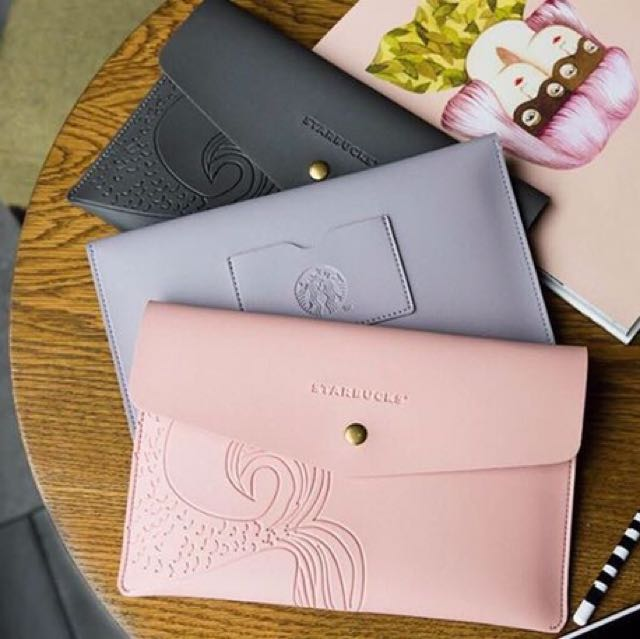 Starbucks Siren Tail Clutch