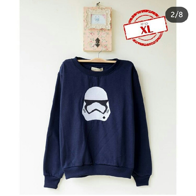 Storm Troopers Star Wars Sweater Grey, Black, Navy, White, Sky Blue