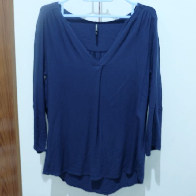 Stradivarius Blue Top