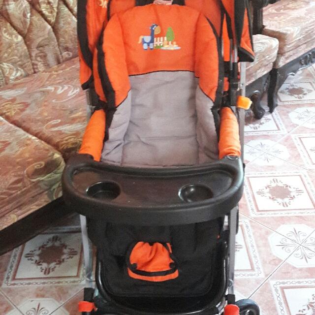 Stroller (Orange)