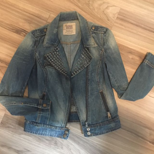 Studded Denim Moro Jacket