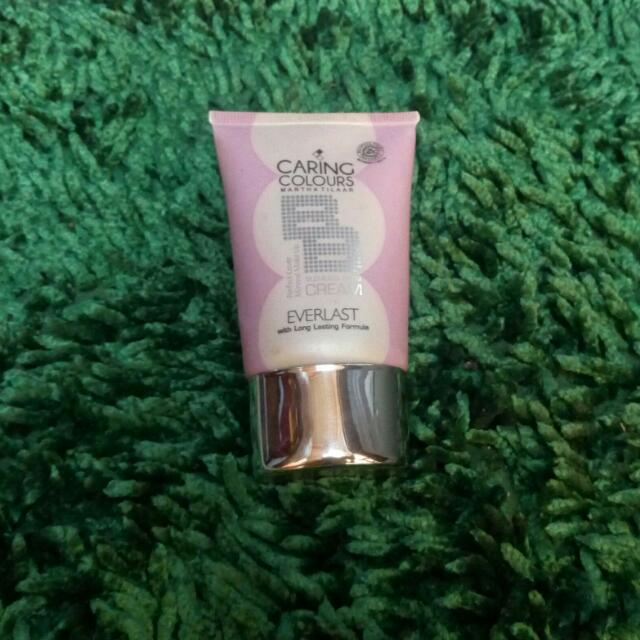 (Subsidi ONGKIR 10ribu) Caring Colours BB Cream EverlastOriginal Free Gift / Kerudung