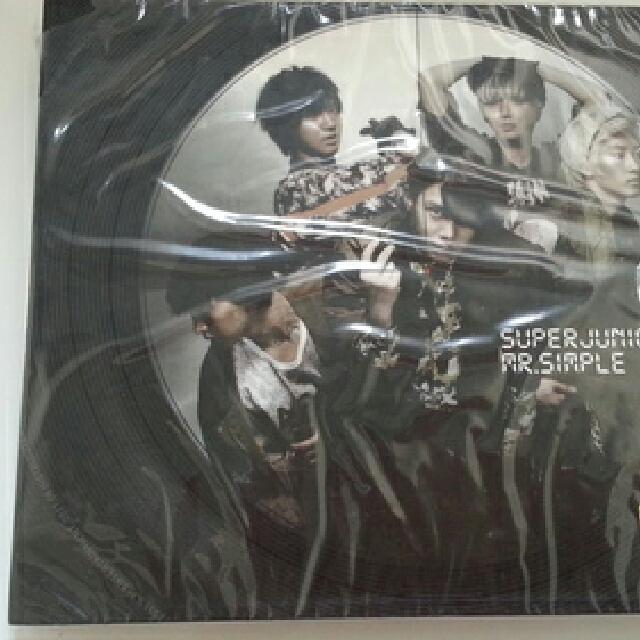 SUPER JUNIOR 5th album MR SIMPLE - type B (korea) CD,  Booklet, cards