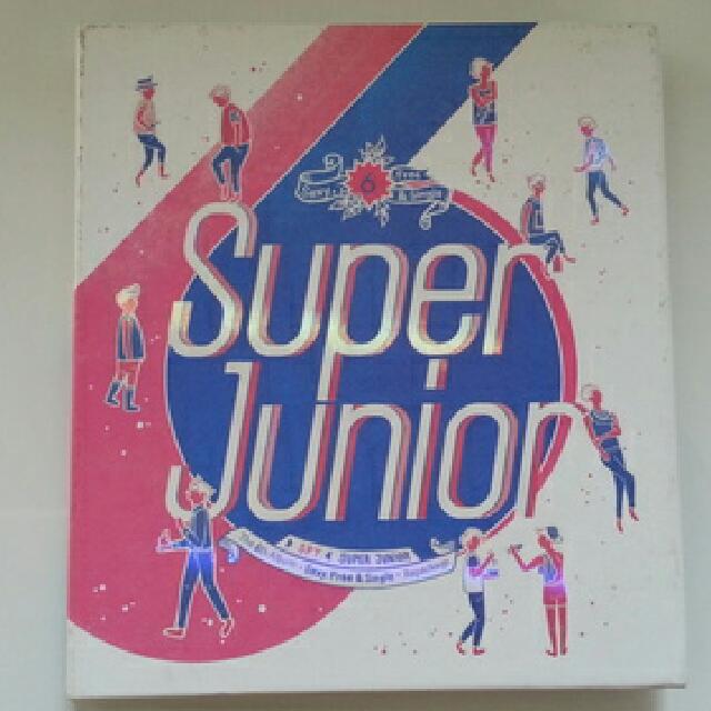 SUPER JUNIOR 6th album repackage [SPY] (Korean ver.) + booklet
