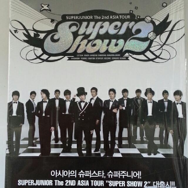 SUPER JUNIOR: The 2nd Asia Tour: Super Show 2 (DVD + Photobook) (2-Disc)
