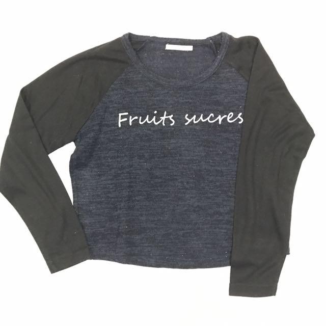 Sweat Shirt Fruit Surces