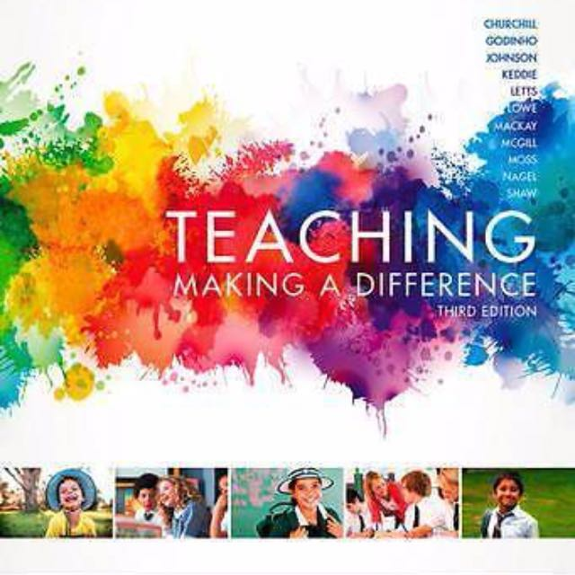 Teaching: Making A Difference Textbook