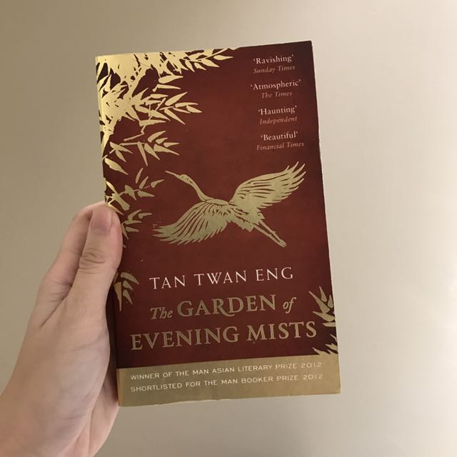 the garden of evening mists by tan twan eng books stationery fiction on carousell - The Garden Of Evening Mists