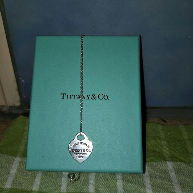 Tiffany And Co Return To Tiffany Necklace