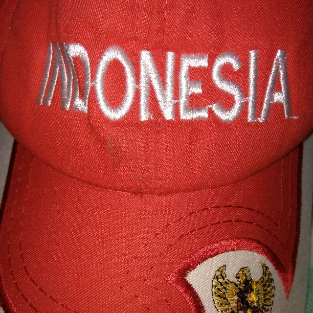 Topi Merah Putih Anak #carousell17an