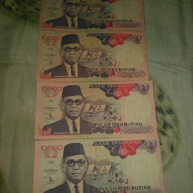 Uang Kuno Rp 10.000 Th 1992