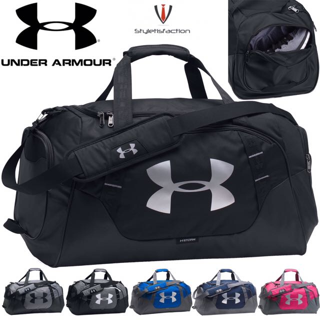 Under Armour Ua Duffle Bag Gym Sling Sports Equipment On Carou