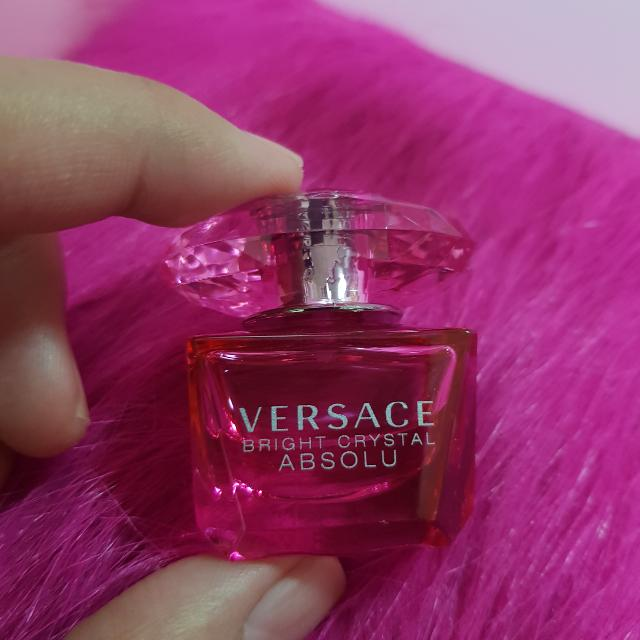 versace bright crystal absolu mini