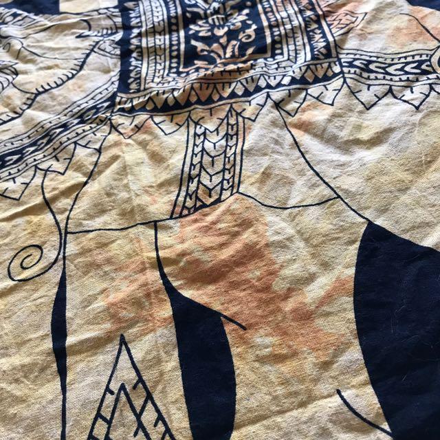 Wall Hanging Huge Decor The Dye Tree Of Life Elephant Ishka Tapestry Yellow Tumblr