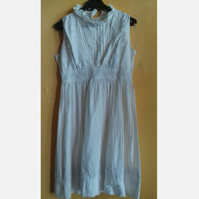 White Dress Bordir