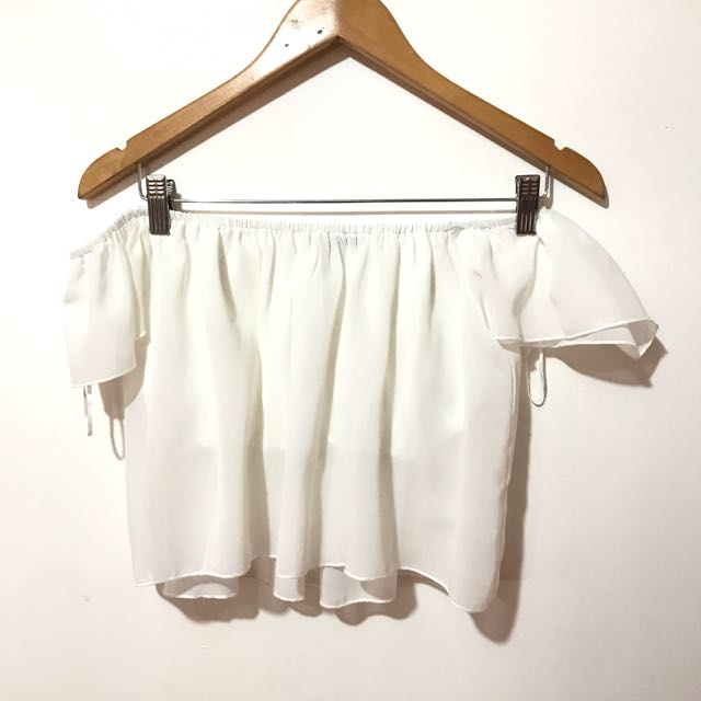 White Off Shoulder Terranova
