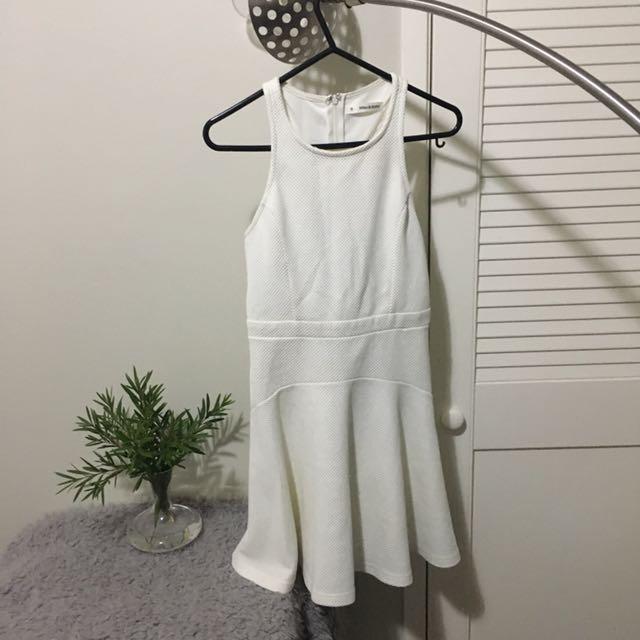 White Skater Girl Dress