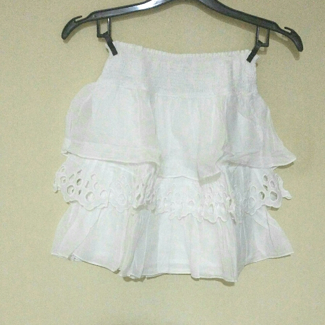 Zara Tiered Mini Skirt
