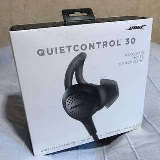Bose QuietControl 30 Noise Cancellation Earphone