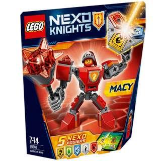 Lego Nexo Knights Battle Suit Macy - 70363
