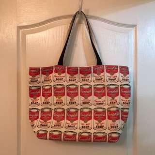 Campbells Soup-design Tote Bag 包包