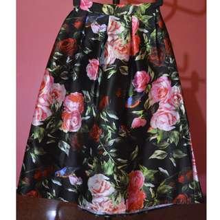 Long Scuba Skirt