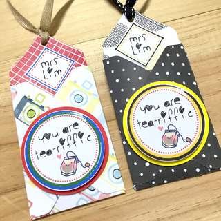 Tea for Teacher's Day gift - goodie bag / party favour