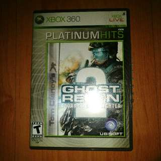 Xbox 360 Game - Tom Clancy's Ghost Recon 2 Advanced Warfighter