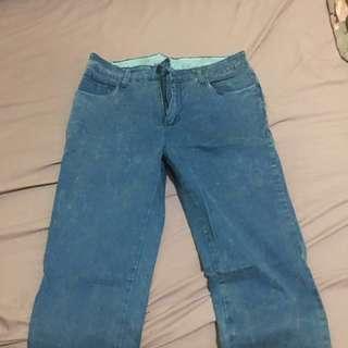 Jeans korea (laki perempuan)