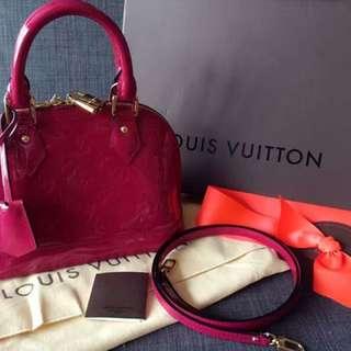 LV Alma bb Bag In Pink