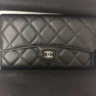Chanel flap wallet / 香奈兒三摺式皮夾 / Style code: A31506😍