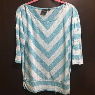 Blue Stripe Shirt (small)