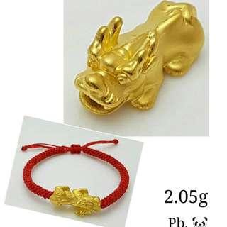 24K Hong-Kong Gold Bracelet
