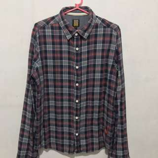 Dickies Checkered Long Sleeves
