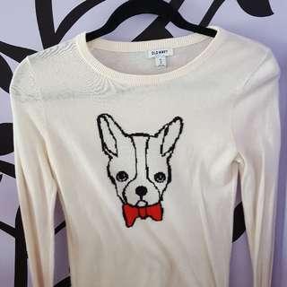 Dog Bowtie Sweater - Old Navy