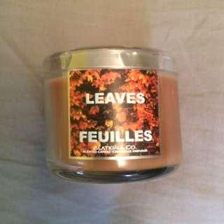 BBW Mini Leaves Candle