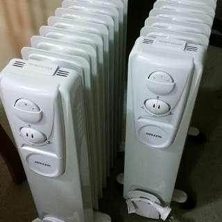 9 Fins Oil Heaters