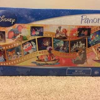 Disney Panoramic Jig Saw Puzzle