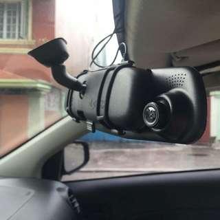 Dashcam With Back Cam