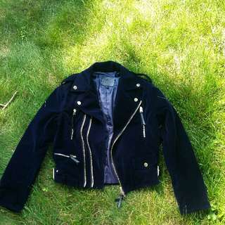 NEW Velvet Moto Jacket