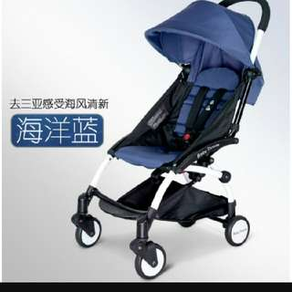 Baby Throne Compact Stroller (Blue)