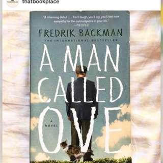 PRICE MARK DOWN - MAN CALLED OVE FOR ONLY 500 pesos