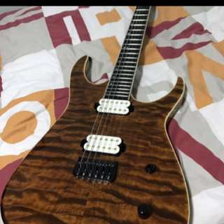 E T guitars Warmachine (Aus)