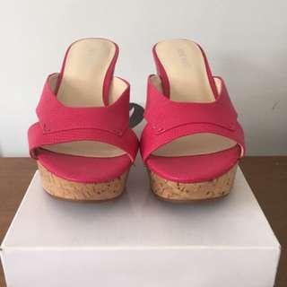 Nine West Pink Wedge