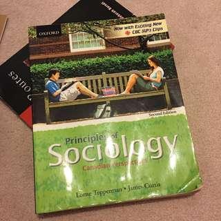 Principles Of sociology Textbook