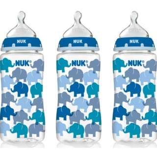 (Used) NUK Wide Neck Milk Bottle