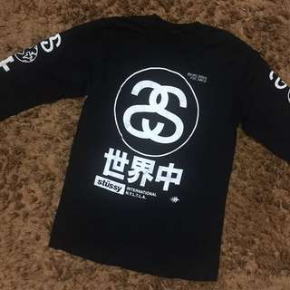Authentic Stussy International Ling Sleeve sz M (used by me)